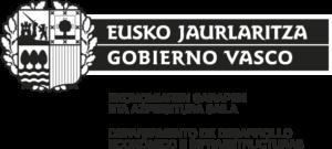 Logotipo del Gobierno Vasco Eusko Jaurlaritza.